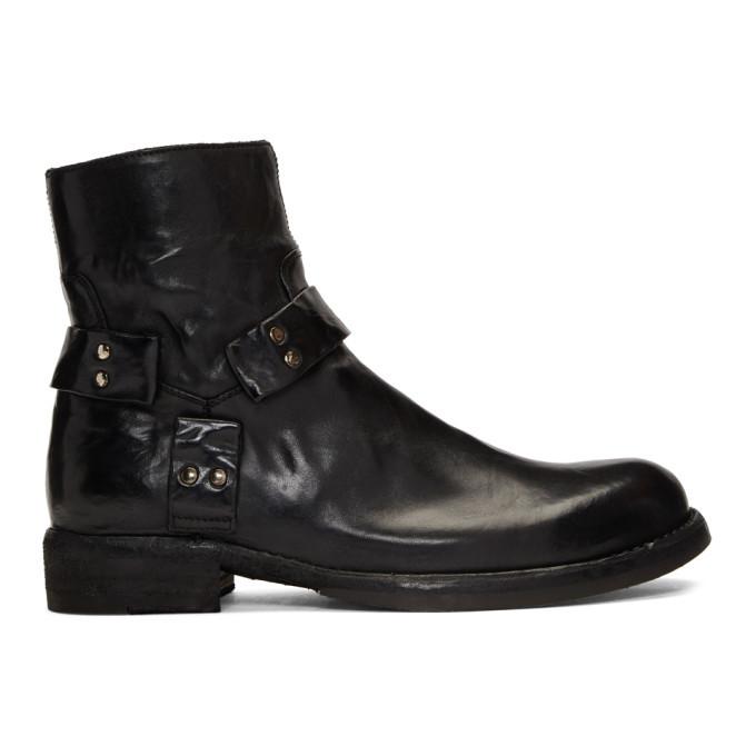 Photo: Officine Creative Black Ikon 055 Boots
