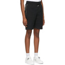 1017 ALYX 9SM Black Sweat Shorts