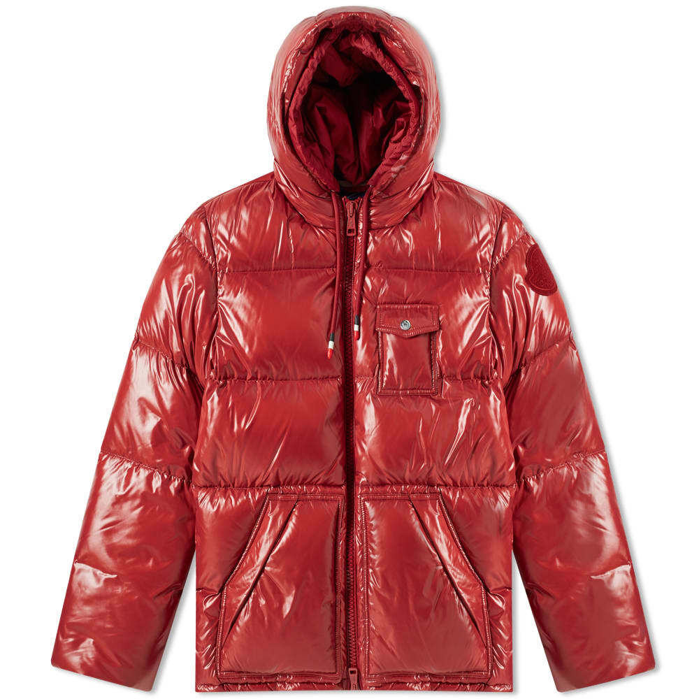 Photo: Moncler Genius 2 Moncler 1952 Apremont Hooded Down Jacket