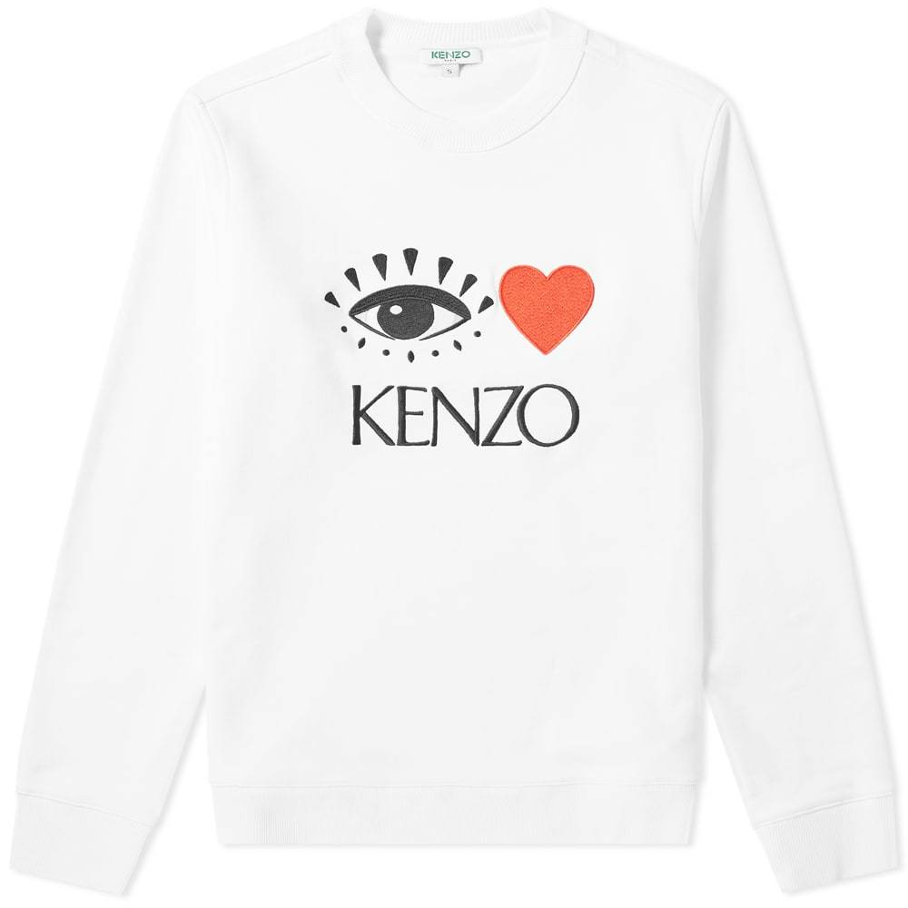 Photo: Kenzo Valentine's Crew Sweat