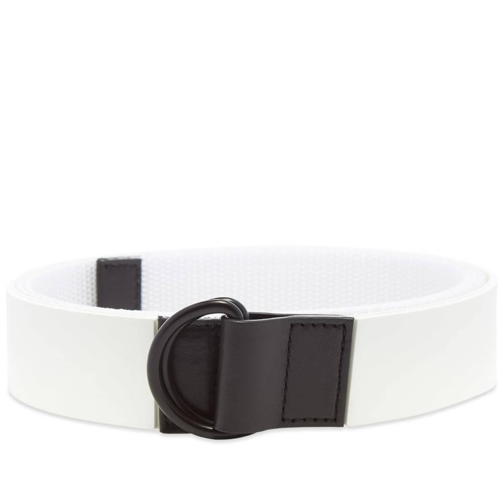 Photo: Maison Margiela 11 Logo Rubber Belt