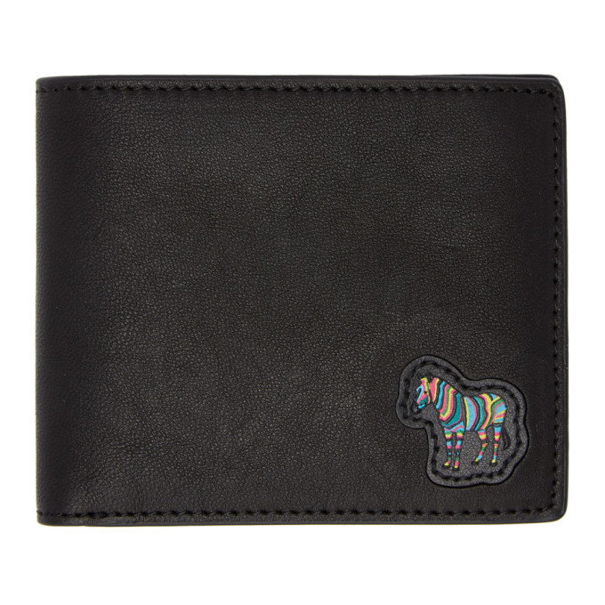 Photo: PS by Paul Smith Black Zebra Logo Wallet
