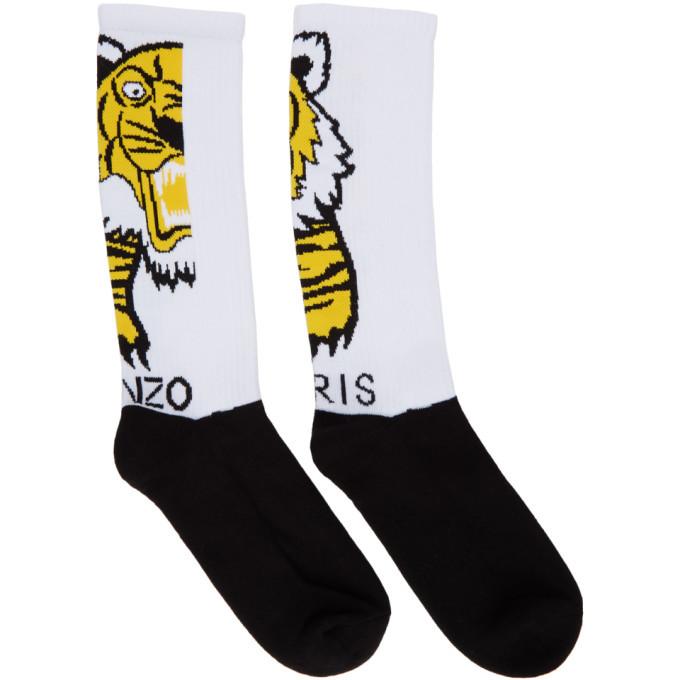 Photo: Kenzo Black and White Giant Tiger Socks