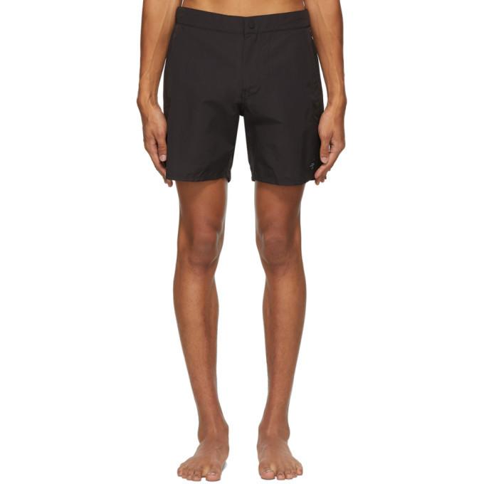 Photo: Saturdays NYC Black Kei Swim Shorts