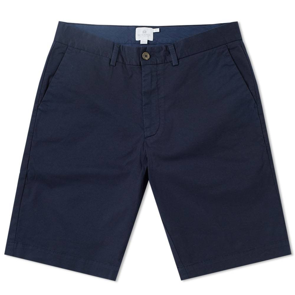 Sunspel Classic Chino Short Blue