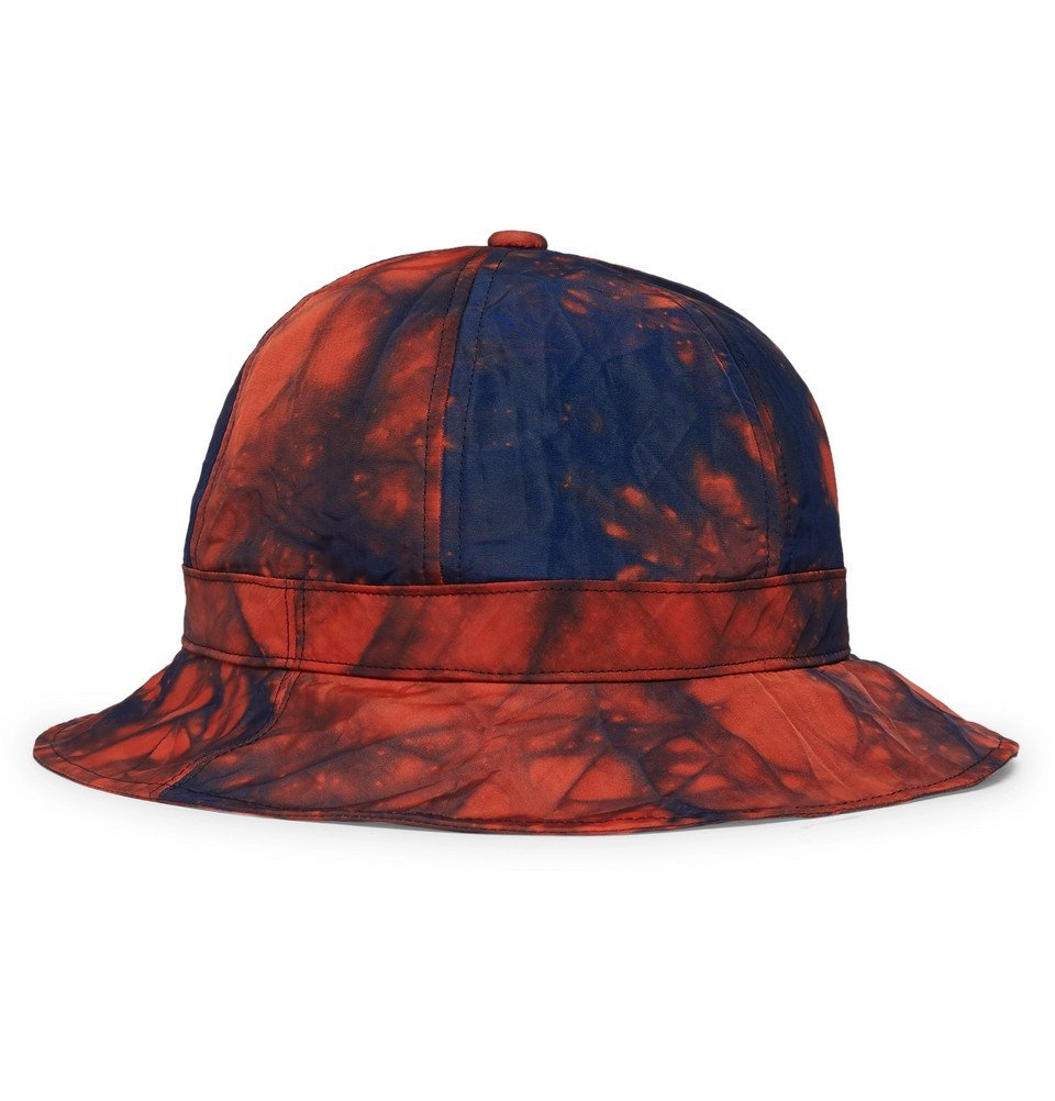Photo: Blue Blue Japan - Tie-Dyed Nylon Bucket Hat - Orange