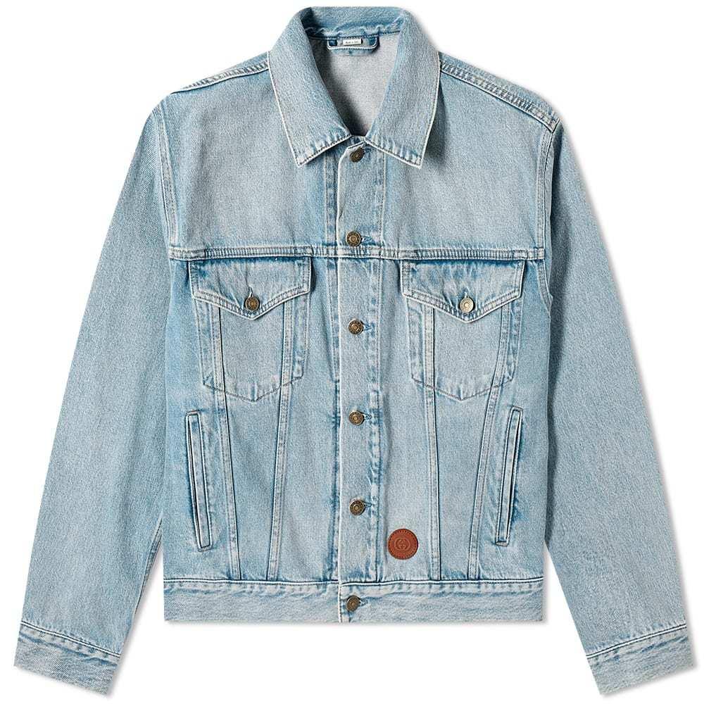 Photo: Gucci Patch Logo Denim Jacket