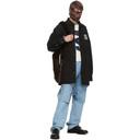 Raf Simons Black Denim Padded Big Fit Shirt