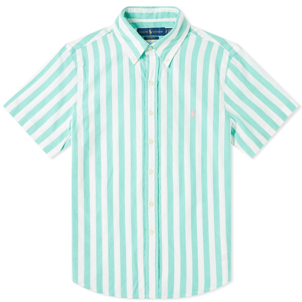Photo: Polo Ralph Lauren Short Sleeve Bold Vertical Stripe Shirt