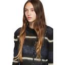 3.1 Phillip Lim Black and Navy Stripe Sweater