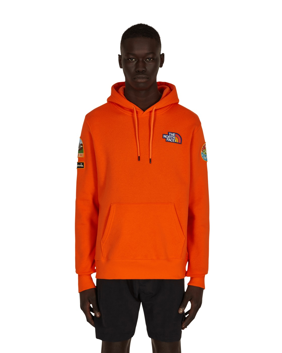 Photo: The North Face Patches Hooded Sweatshirt Flame