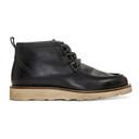 Belstaff Black Macclesfield Lace-Up Boots