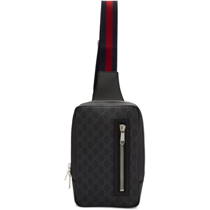 Photo: Gucci Black GG Supreme Belt Bag