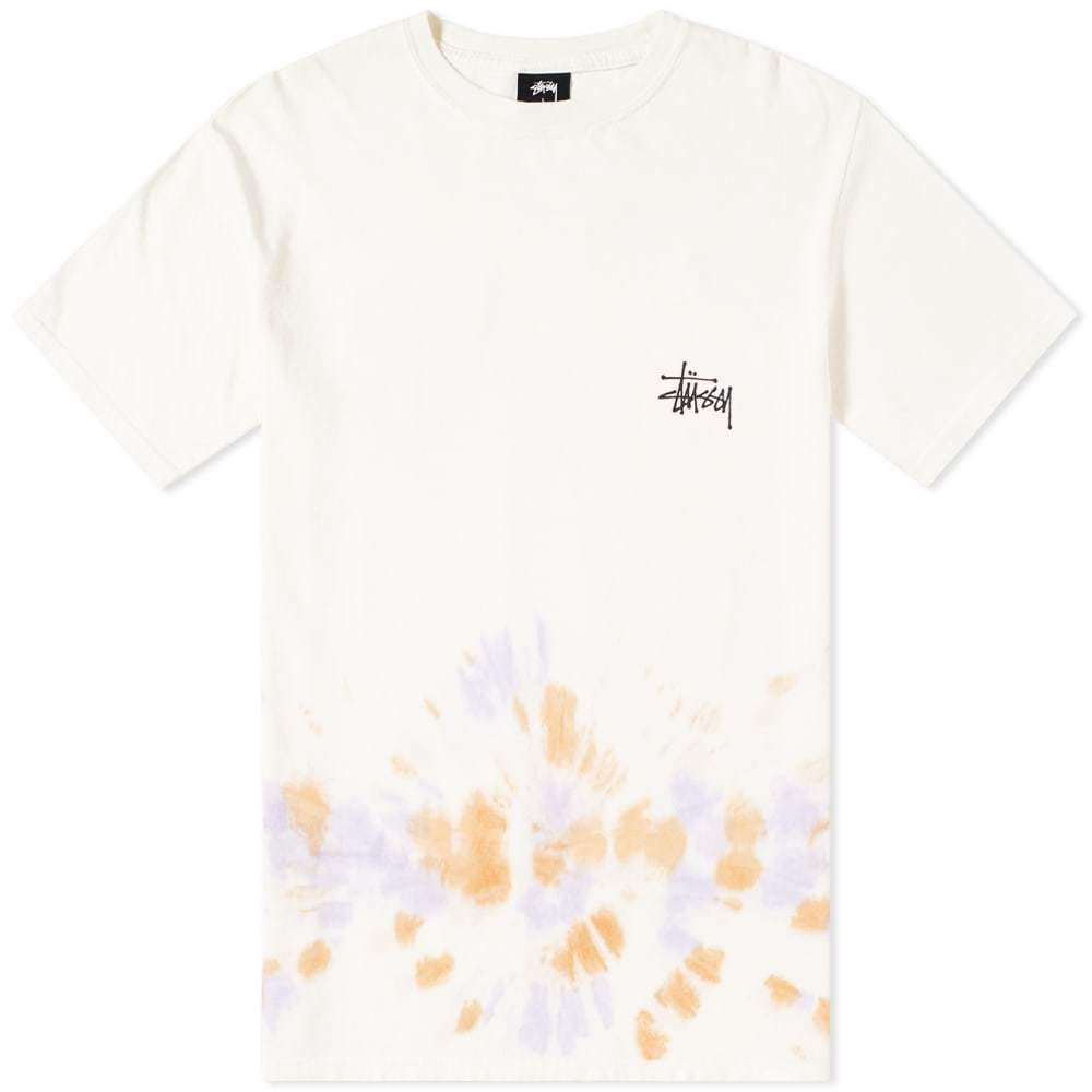 Photo: Stussy Basic Tie Dye Tee White