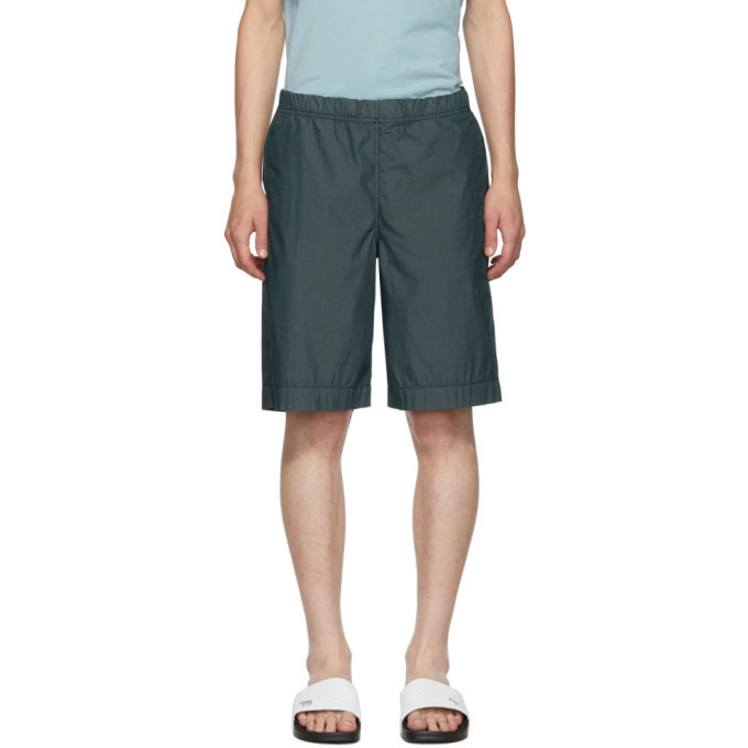 Photo: PS by Paul Smith Blue Cotton Shorts