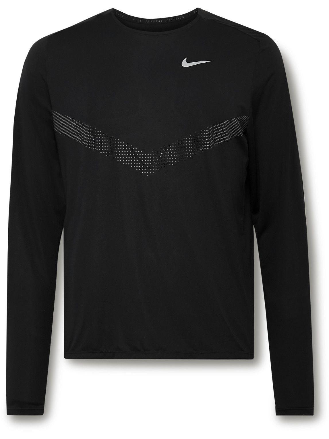 Photo: Nike Running - Rise 365 Run Division Dri-FIT T-Shirt - Black