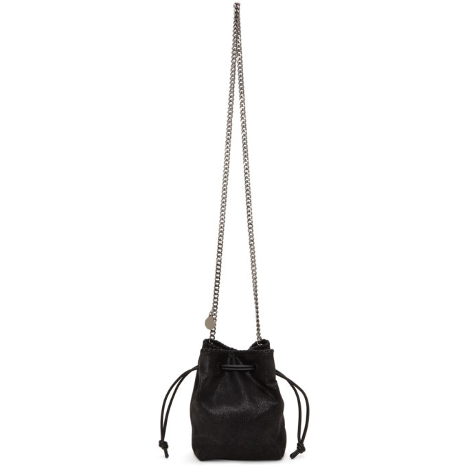 Photo: Stella McCartney Black Micro Falabella Bucket Bag