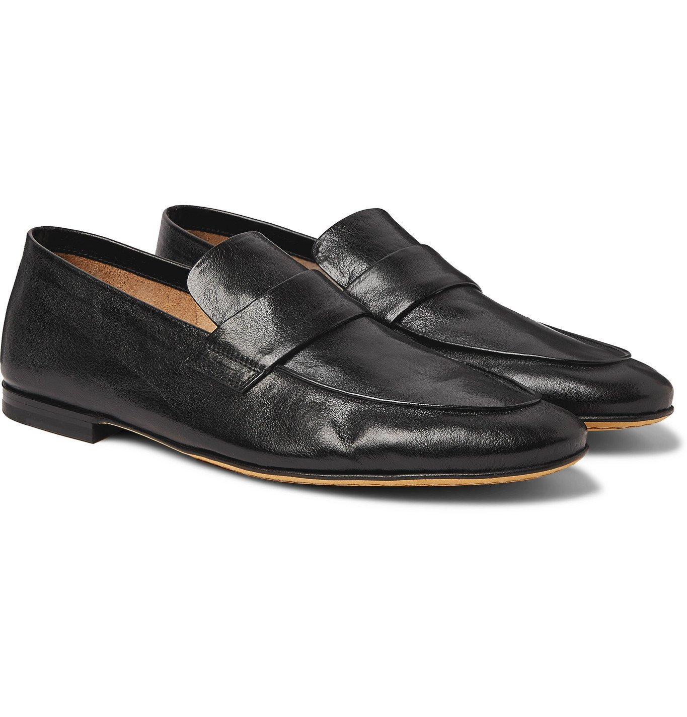 Photo: OFFICINE CREATIVE - Airto Leather Loafers - Black