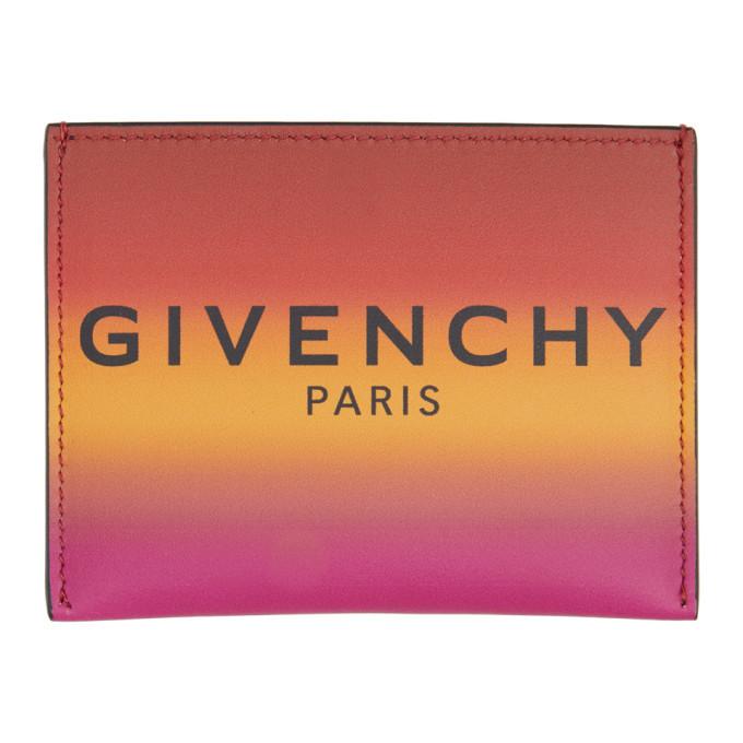 Photo: Givenchy Orange Gradient Card Holder