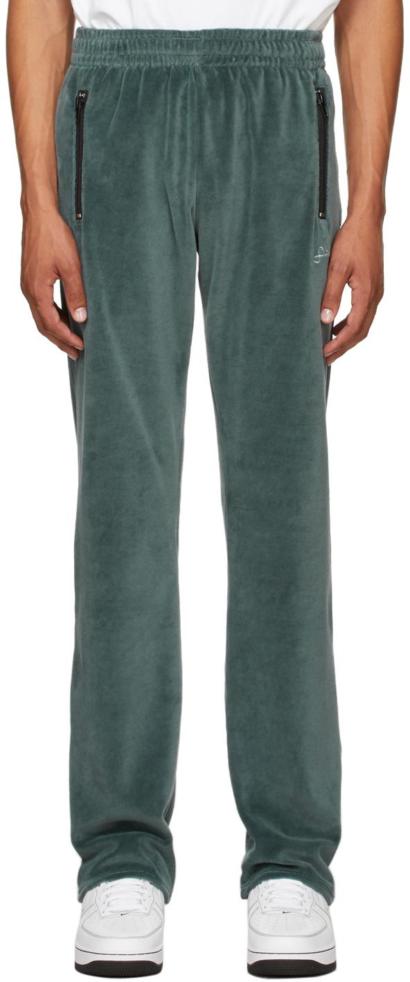 Photo: Saintwoods Blue Velour Lounge Pants