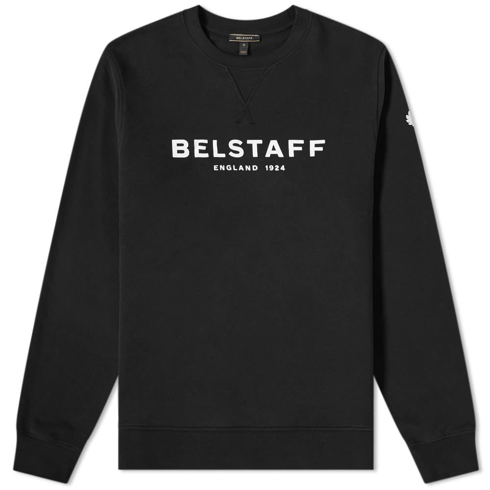 Belstaff Printed Logo Sweat Black