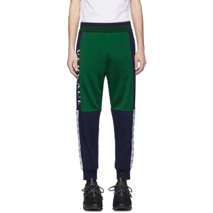 Photo: Versace Green and Navy Compilation Lounge Pants