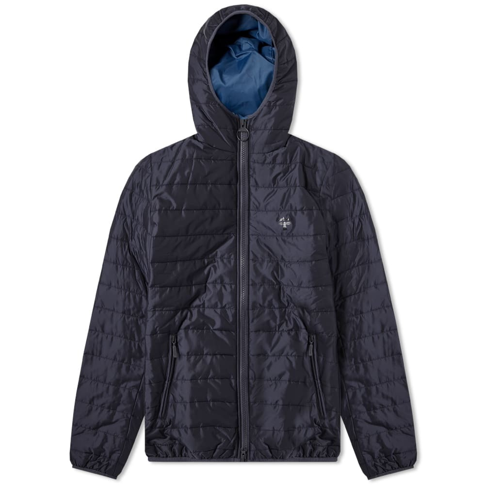 Photo: Barbour Birkhouse Quilted Jacket Navy
