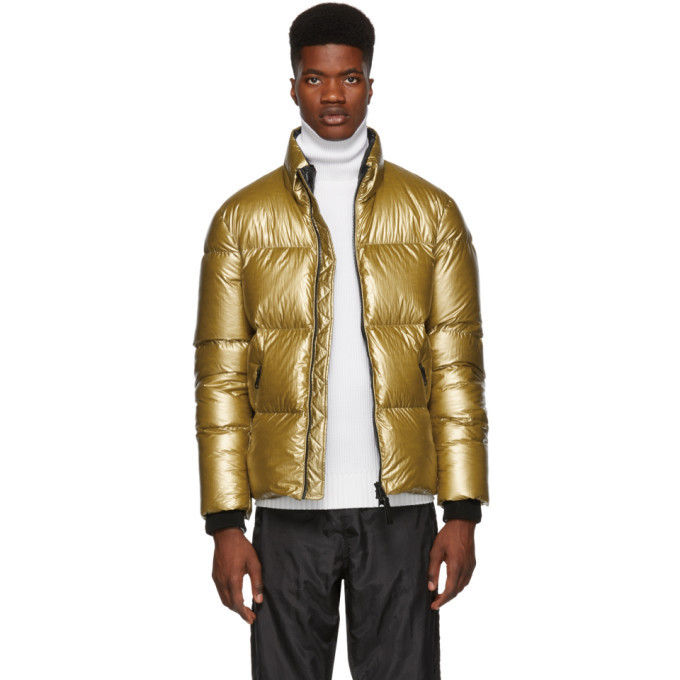 Photo: Mackage Gold Lustrous Greg Down Jacket