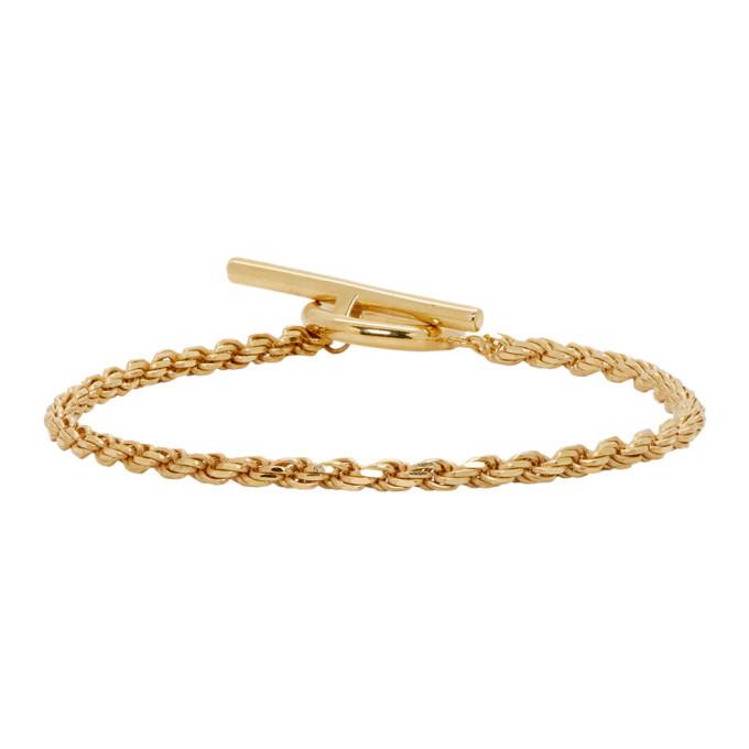 Photo: All Blues Gold Rope Bracelet