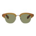 Oliver Peoples Tan Semi Matte Cary Grant 2 Sunglasses
