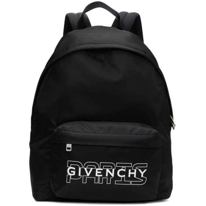 Photo: Givenchy Black New Givenchy Paris Backpack