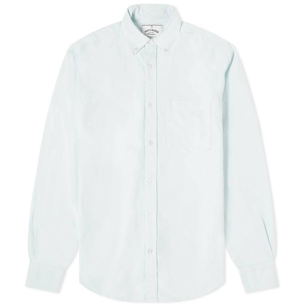 Photo: Portuguese Flannel Belavista Button Down Oxford Shirt