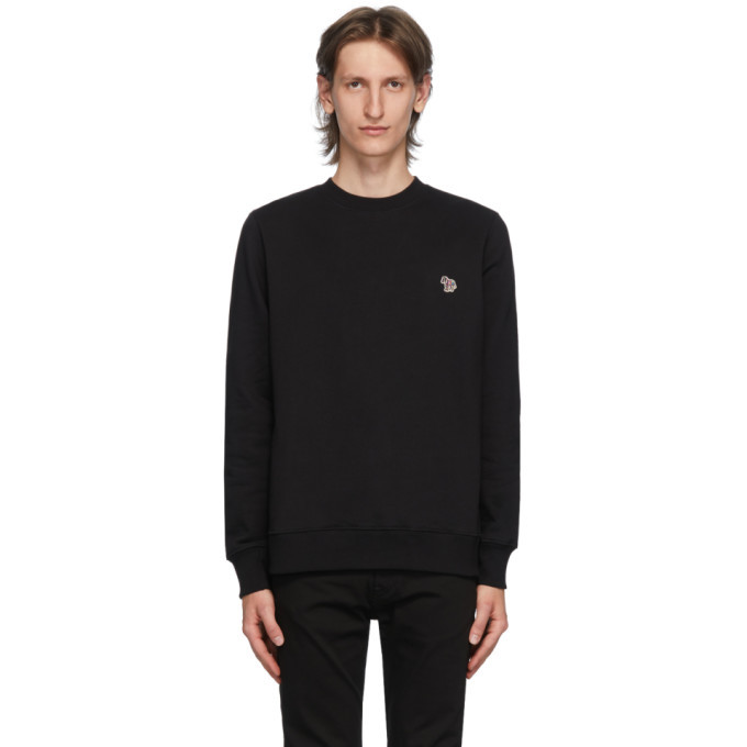 Photo: PS by Paul Smith Black Zebra Sweatshirt