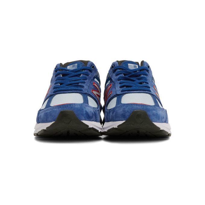 New Balance Blue US Made 990v5 Sneakers