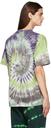 Aries Purple & Green Tie-Dye Acid Whirl T-Shirt