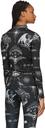 Sacai Black Jean Paul Gaultier Edition Dr. Woo Graphic Turtleneck