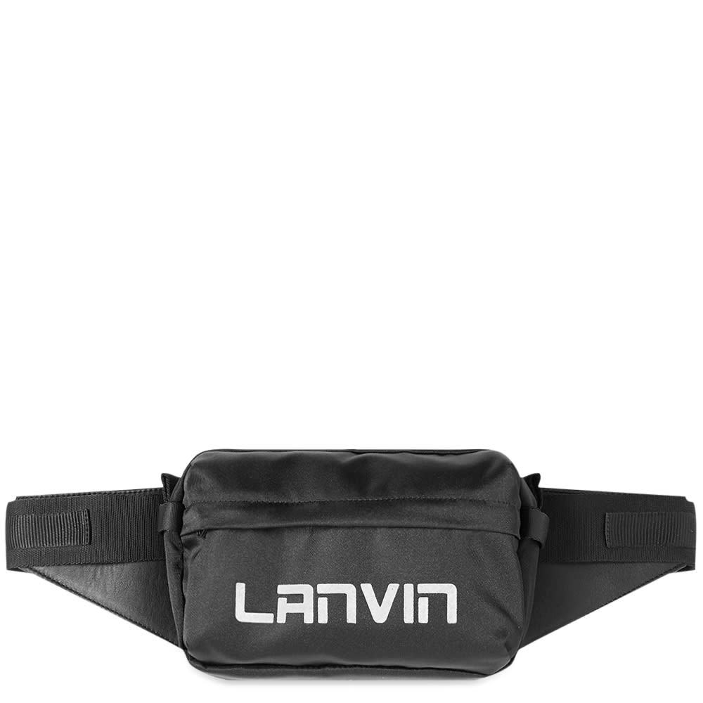 Photo: Lanvin Logo Cross-Body Bag