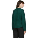 3.1 Phillip Lim Green Long Sleeve Alpaca Sweater