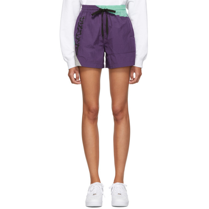 Photo: alexanderwang.t Purple Heavy Washed Shorts
