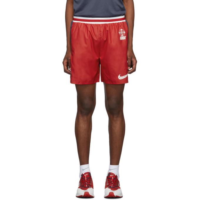 Photo: Nike Red and Blue Gyakusou Utility Shorts