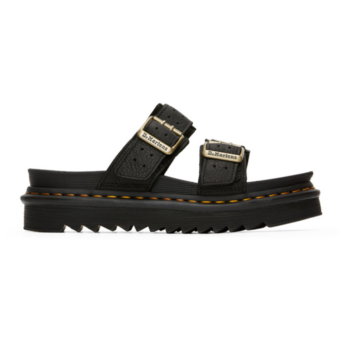 Photo: Dr. Martens Black Ambassador Myles II Sandals