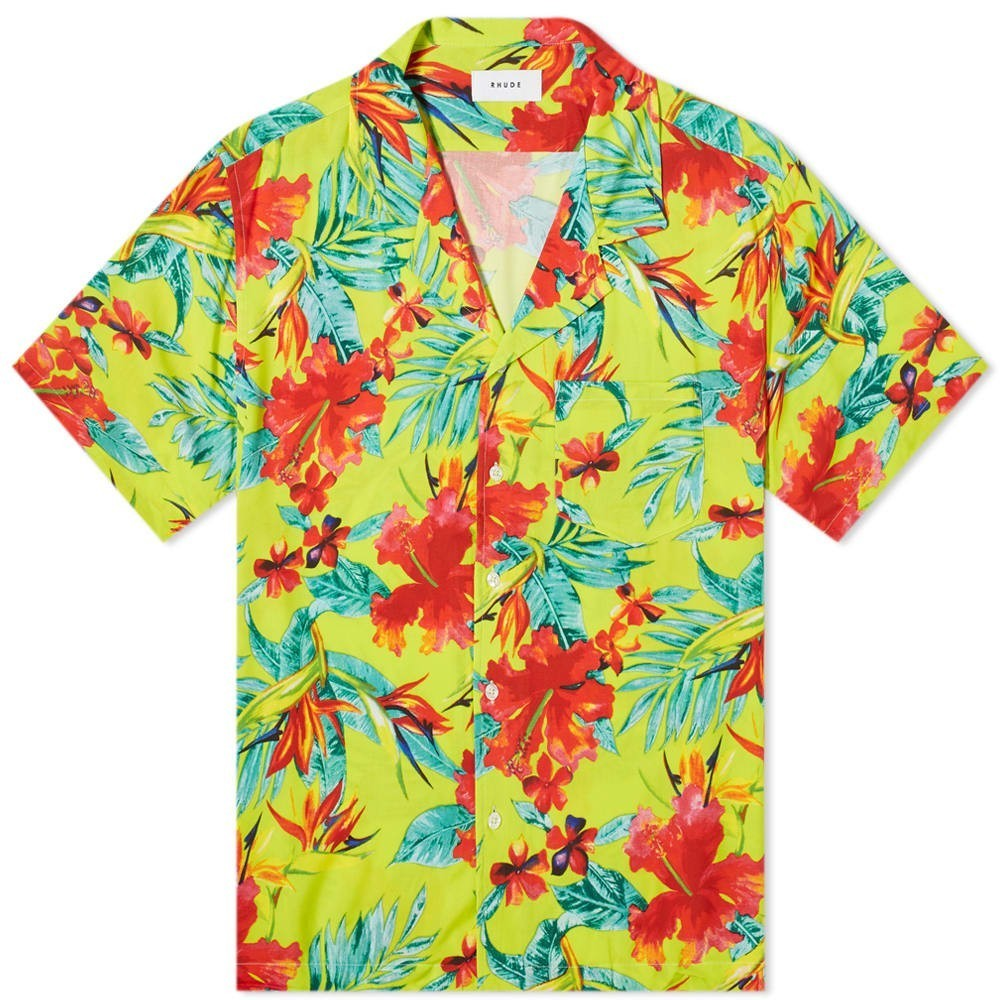 Photo: Rhude Hawaiian Shirt