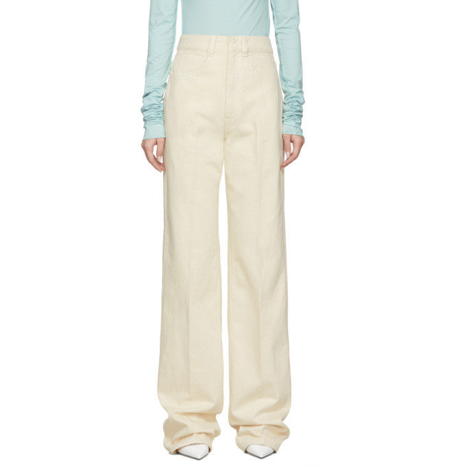 Lemaire Off-White Large Jeans