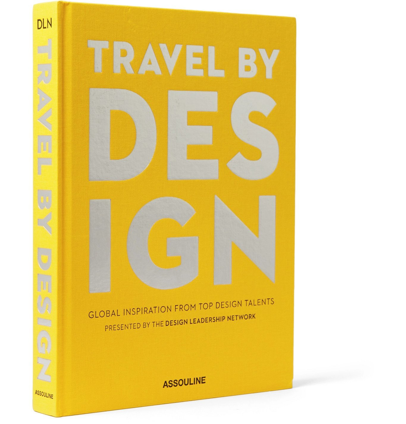 Photo: Assouline - Travel by Design Hardcover Book - Yellow