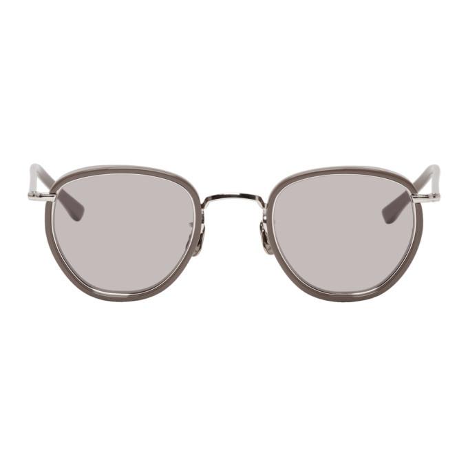 Photo: Eyevan 7285 Silver and Grey 78746 Sunglasses