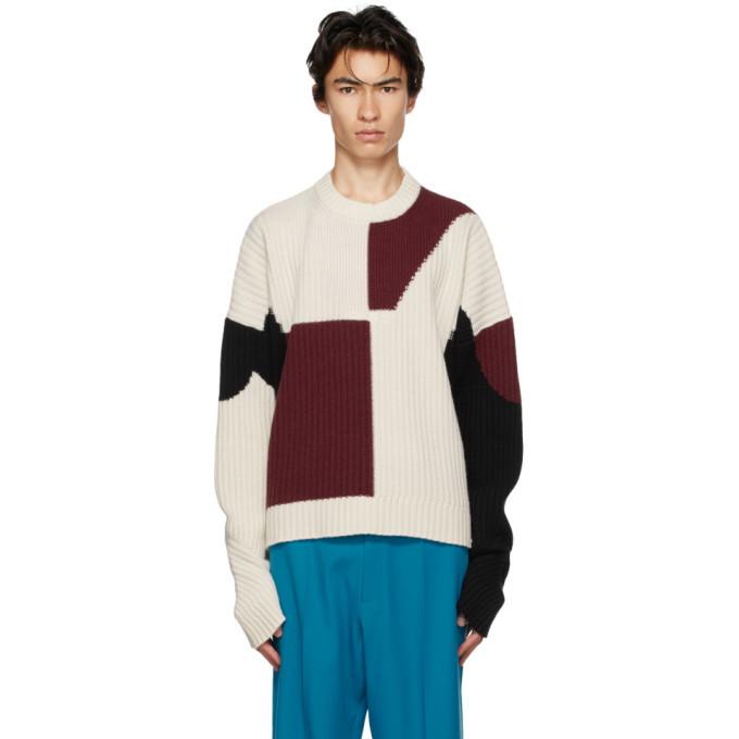 Photo: GmbH Off-White Wool Mies Sweater