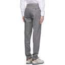 Dunhill Grey Wool Stretch Chinos