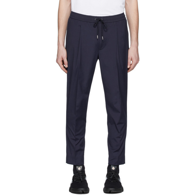 Photo: Moncler Navy Sport Trousers