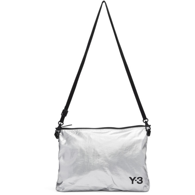 Photo: Y-3 Silver Sacoche Bag