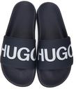 Hugo Navy Match Slides